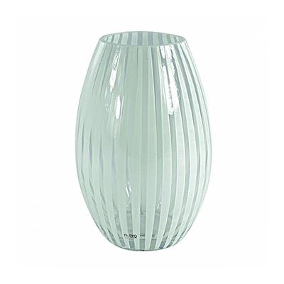 Twist vase konves (hvit)