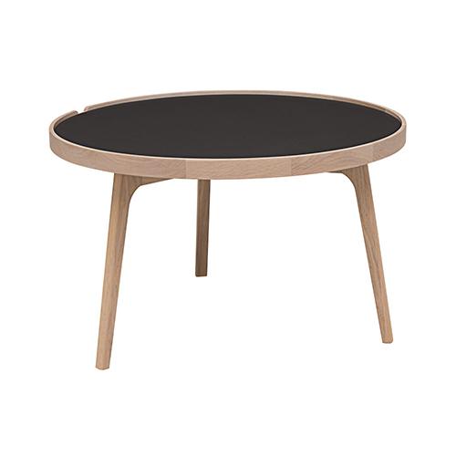 Racquet sofabord rundt 80 cm