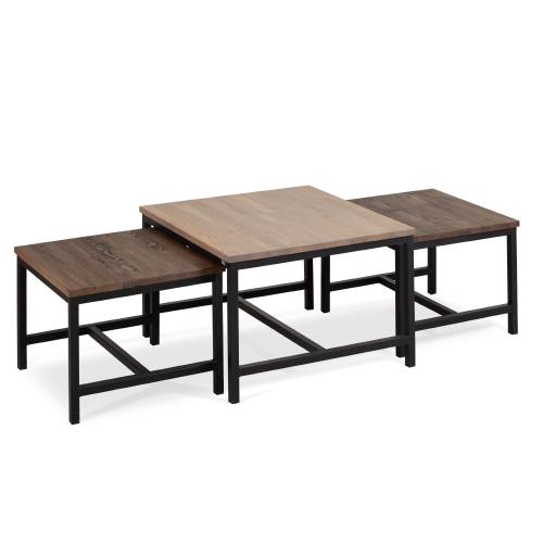 Hauk sofabord sett (60+80+60)