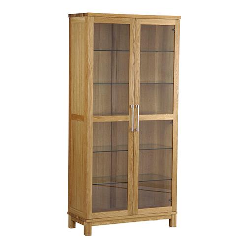Inzel vitrine 2-dør