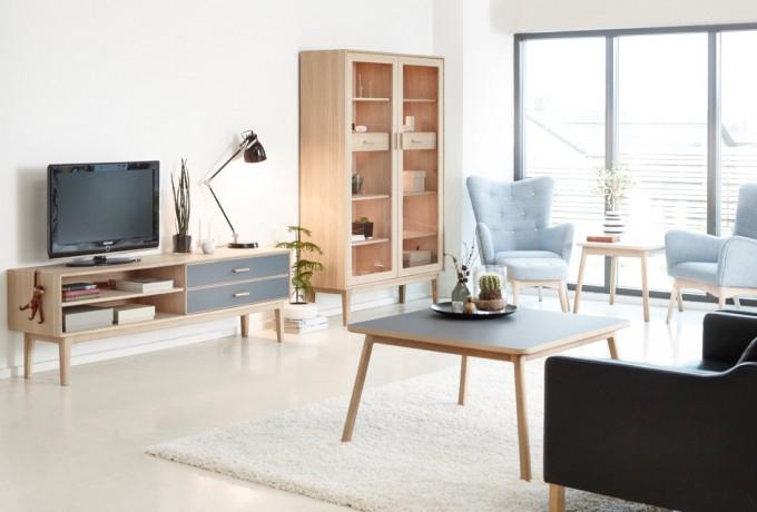 Casø 700 tv-benk m/ben