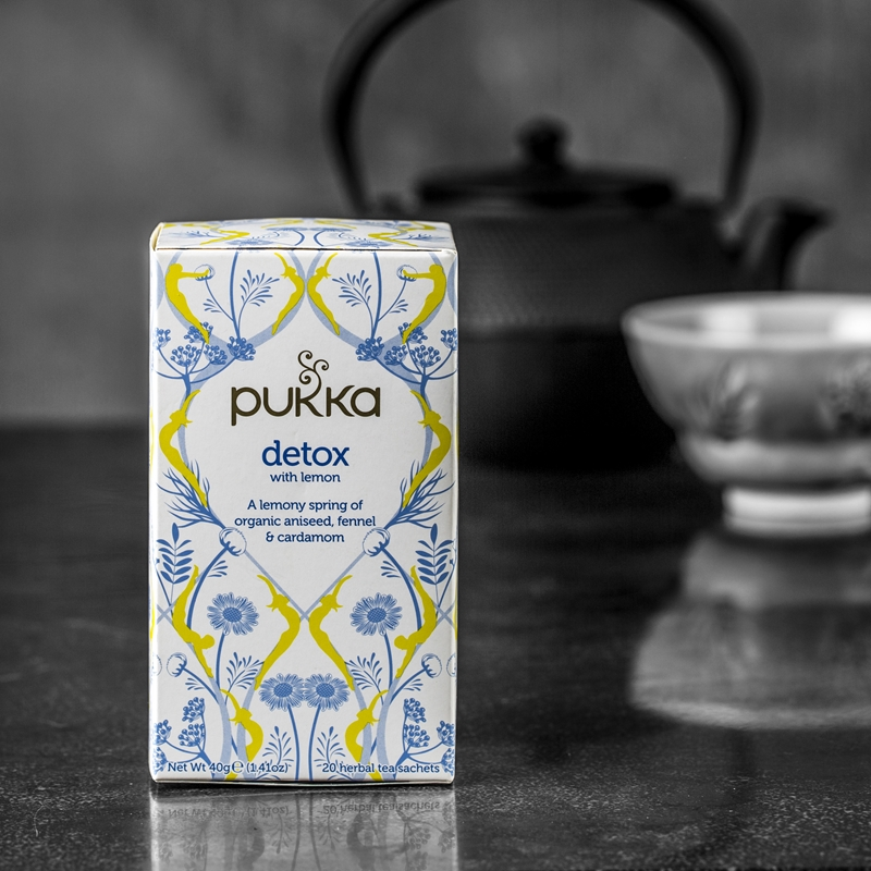 Pukka Detox with Lemon
