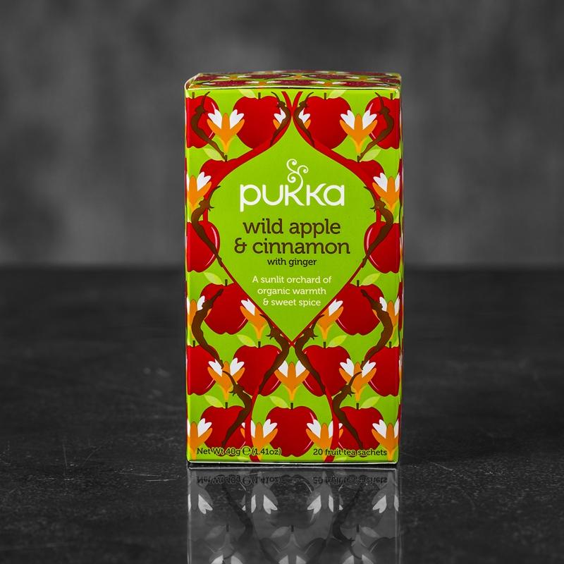 Pukka Wild Apple og Cinnamon