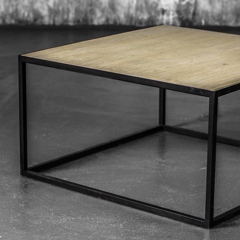 Madison sofabord gråvasket eik