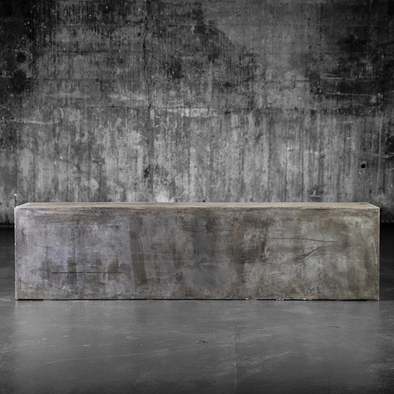 Barcelona betongbenk