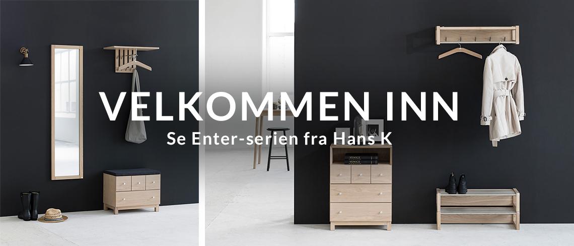 Enter: Velkommen inn