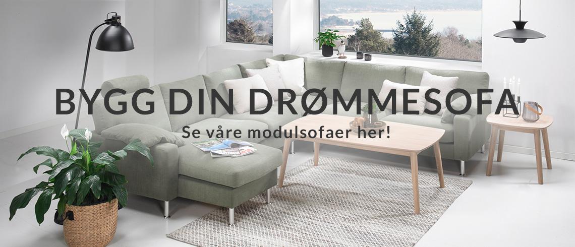 Modulsofa: Bygg din drømmesofa